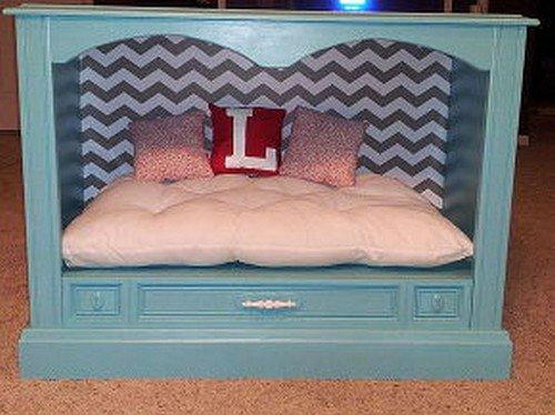 decorar la cama del perro tv