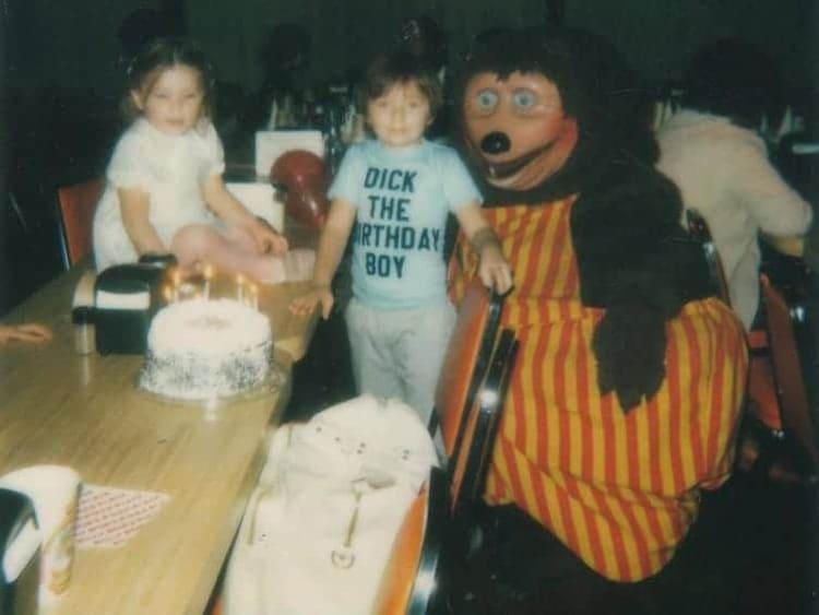 fotos de miedo, mascota, cumpleaños, fiesta, columna vertebral, genial