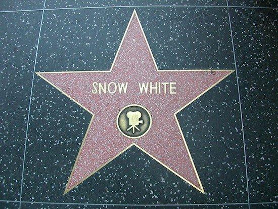 estrella blanca como la nieve