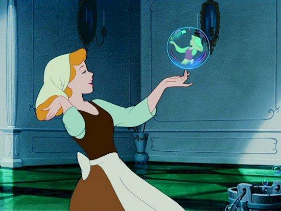 burbuja de cenicienta
