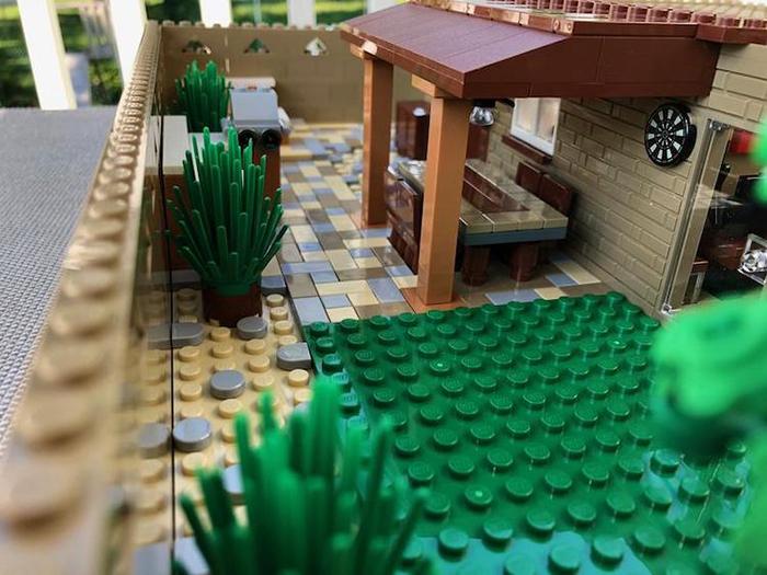 PATIO LEGO