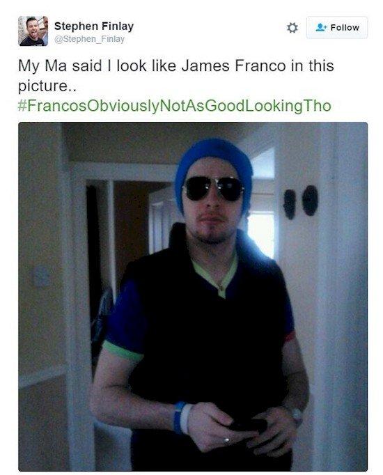 James Franco parecido