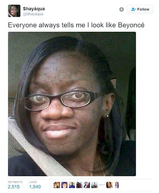Beyonce parecido