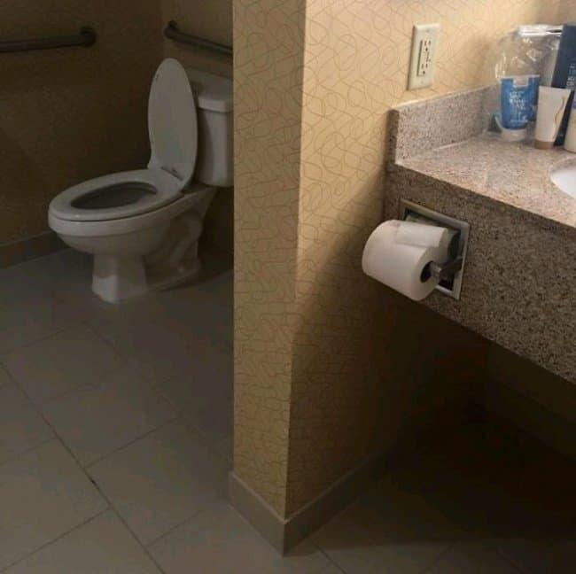 falla fuera del alcance papel higiénico diseño más divertido