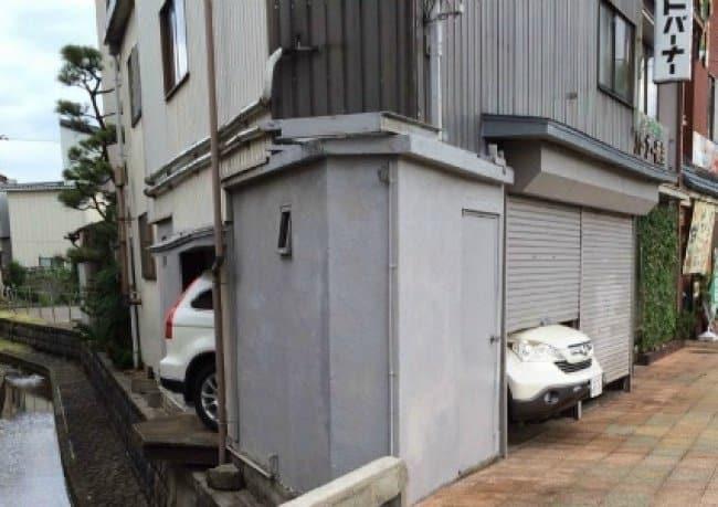 El diseño más divertido del diseño del coche no encaja en el garaje falla