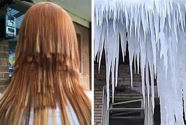 glaciar peinados divertidos-locos