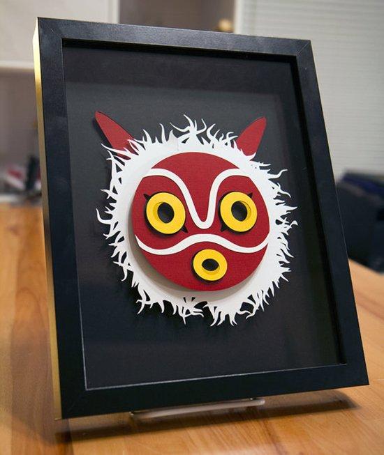 máscara de princesa-mononoke