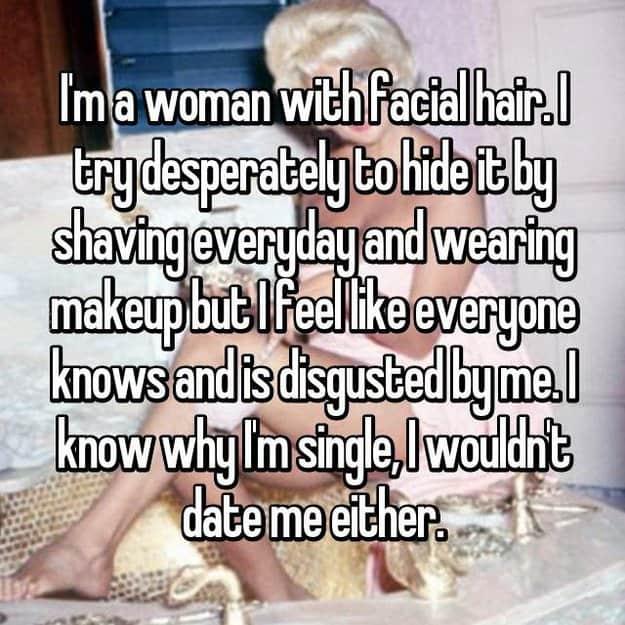 afeitarse todos los días y desgastarse